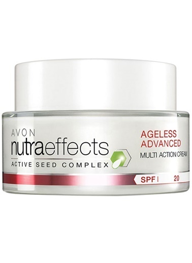 Avon Nutra Effects Ageless Advanced Gündüz Kremi 50 Ml Renkli